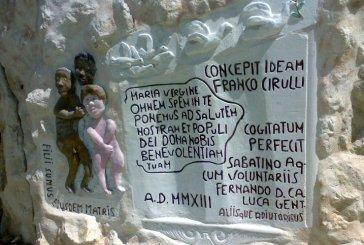 Grotta di Lourdes a Schiavi d'Abruzzo, arrivano i ringraziamenti del Papa