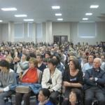 Il numeroso pubblico