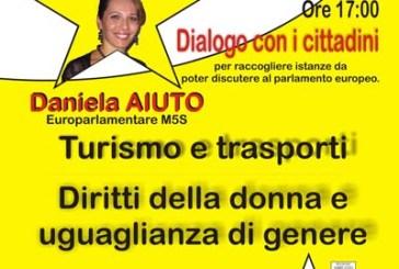 Al d'Avalos un incontro con l'europarlamentare grillina Daniela Aiuto