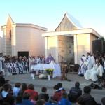 La Messa del Vescovo al Cimitero