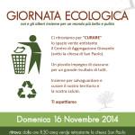 Locandina Giornata Ecologica 2014