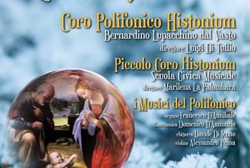 Nella cattedrale di Vasto il Concerto di Natale del Coro polifonico Histonium