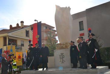 Monumento all'Arma dei Carabinieri, i ringraziamenti del sindaco di Vasto