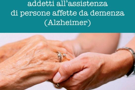 Locandina Corso di Alzheimer