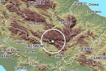 Parco Nazionale d'Abruzzo, sveglia con un terremoto di magnitudo 2.9