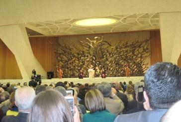 L'Uciim all'udienza con il papa