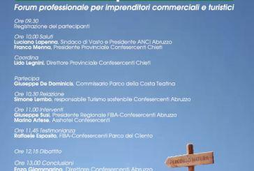 Vasto: al d'Avalos il primo forum professionale sul Parco della Costa teatina