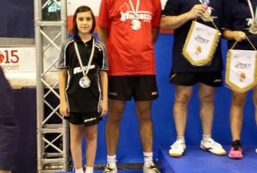 Campionati italiani di tennistavolo, arriva l'argento per Gaia Smargiassi nel doppio misto