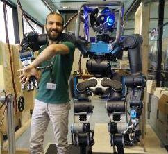 Il vastese Luca Muratore, uno dei padri del robot Walkman