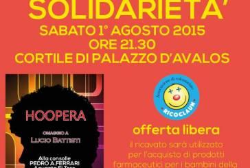 Da Ricoclaun onlus un 'Concerto di solidarietà' per la casa famiglia Manuela