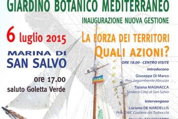 San Salvo: il Biotopo costiero e il Giardino botanico mediterraneo saranno gestiti da Legambiente