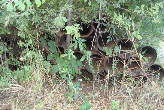 Foto tubi acquedotto 1