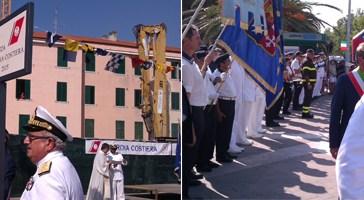 150 anni di storia della Guardia Costiera onorati con l'intitolazione di una piazza alla Marina