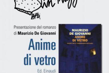 A 'Scrittori in piazza' la star del giallo italiano Maurizio De Giovanni