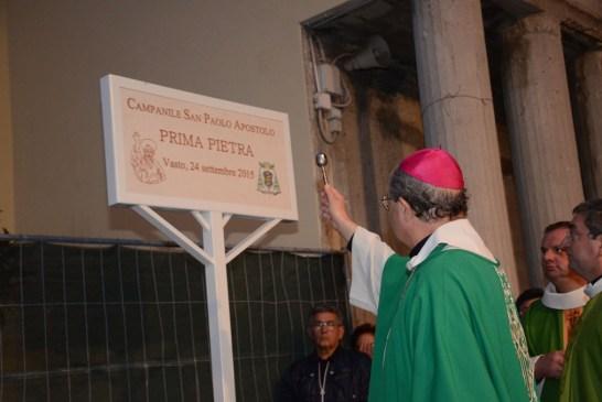 posa I pietra campanile Chiesa San Paolo_24_09_2015_049