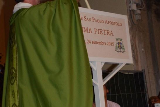 posa I pietra campanile Chiesa San Paolo_24_09_2015_062