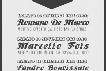 San Salvo: con Romano De Marco prende il via la serie di 'aperitivi letterari'