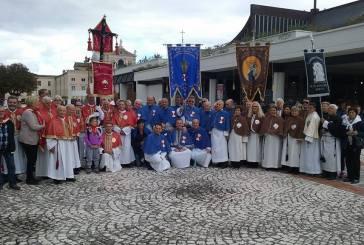 Le Confraternite vastesi al XVI Raduno del Centro Italia al Santuario di S. Gabriele