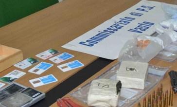 Vasto: armi, droga e documenti falsificati rinvenuti in un capannone