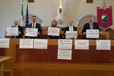 Regione: si dibatte su DPEF e Bilancio, ma il M5S occupa i banchi della Giunta e scatta la censura