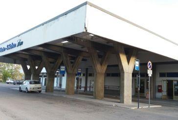 Biglietteria e lavori alla stazione di Vasto-San Salvo