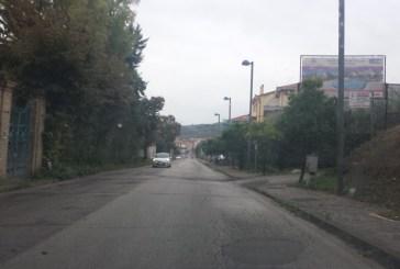 Acqua sull'Istonia, la strada per Vasto Marina, è un serio pericolo di incidenti