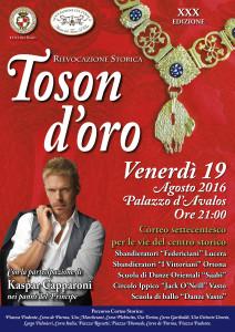 Locandina Toson d'Oro 2016