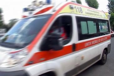Scontro auto moto, due i feriti