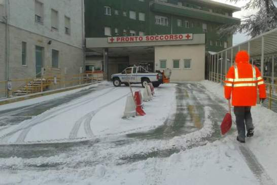 neve ospedale