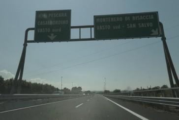 Incidente in A14, chiuso il tratto Vasto Nord-Vasto Sud