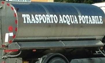 Emergenza idrica a Vasto, arrivano le autobotti