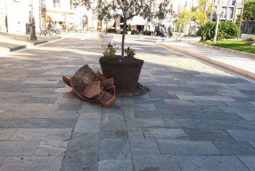 Vasto, vandali in azione in centro storico