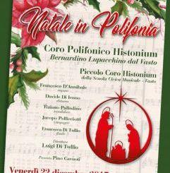 Oggi il Concerto di Natale del Coro Polifonico