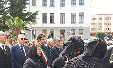 Vasto, la tradizionale processione dell'Addolorata
