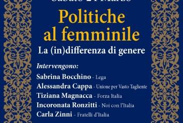 A confronto cinque donne impegnate in politica
