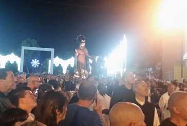 In tanti alla processione della Madonna dei Miracoli