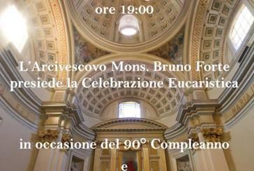 Venerdì Santa Maria Maggiore in festa per i 90 anni di don Decio