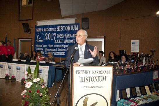 Il prof. Luigi Medea alla Cerimonia 2017