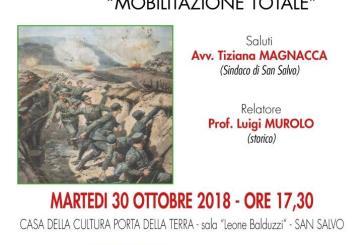 San Salvo celebra il centenario della fine della Grande Guerra