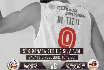 La Vasto Basket va a Mosciano