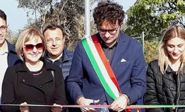 Via San Rocco, inaugurato il secondo lotto