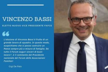 Vincenzo Bassi eletto alla vice presidenza del Forum delle Associazioni Familiari Cattoliche in Europa