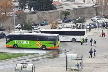 Autobus in fiamme al Terminal,  la Flixbus: