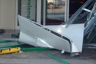 Preso d'assalto il bancomat del centro commerciale