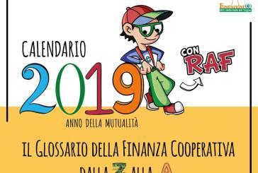Il 2019 con Raf per riportare l'attenzione sui valori di solidarietà e cooperazione