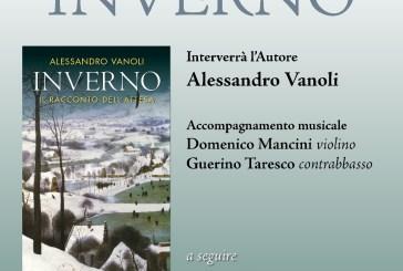 """A Casalbordino appuntamento con Alessandro Vanoli e il saggio """"Inverno"""""""