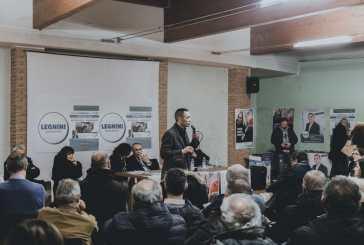 Andrea Ritenuti ha incontrato gli elettori, entusiasmo e partecipazione