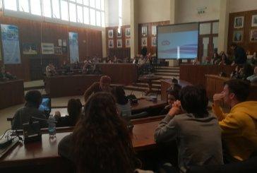 Progetto Erasmus, gli studenti di Bruxelles in visita a Palazzo di Città