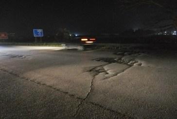 Rifacimento del manto stradale,