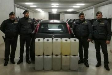 Alcol di contrabbando su un'auto a Gpl, la Guardia di Finanza: